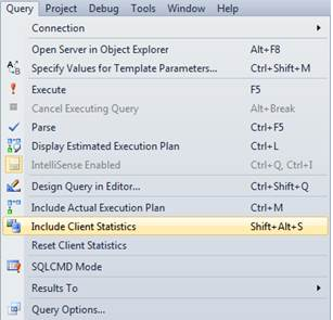 SQL Freelancer SQL Server Client Statistics