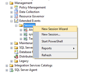 SQL Freelancer SQL Server Extended Events Management Studio SSMS