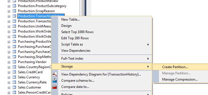 SQL Freelancer SQL Server Partition Wizard