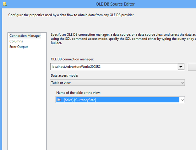 SQL Freelancer SQL Server SSIS Data Type Conversion