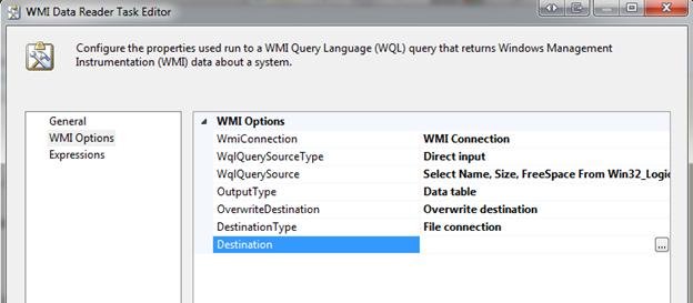 SQL Freelancer SQL Server SSIS WMI