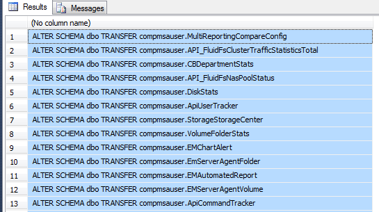 SQL Freelancer SQL Server Schema Changes