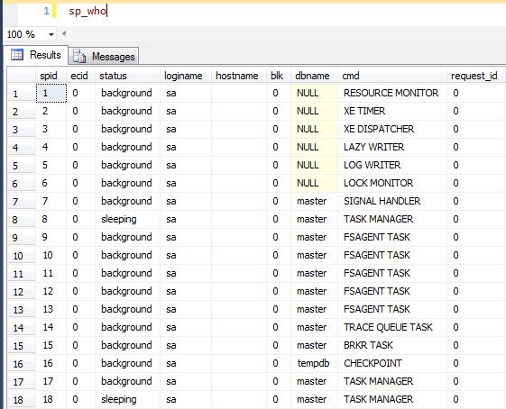 SQL Freelancer SQL Server sp_who
