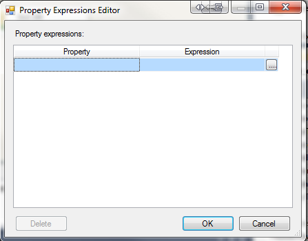 how to add expression to excel connection in ssis
