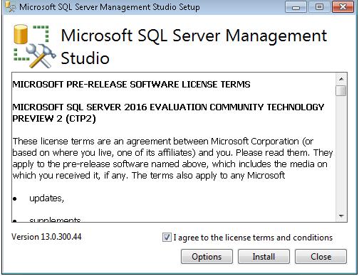 SSMS 2015 SQL Freelancer